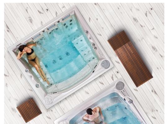 swim spa hottub jacuzzi lounge