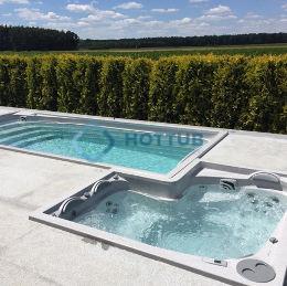 Celoročné bazény USSPA SWIMSPA A COMBI SPA exteriér (7)