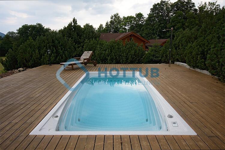 Celoročné bazény USSPA SWIMSPA M exteriér (3)