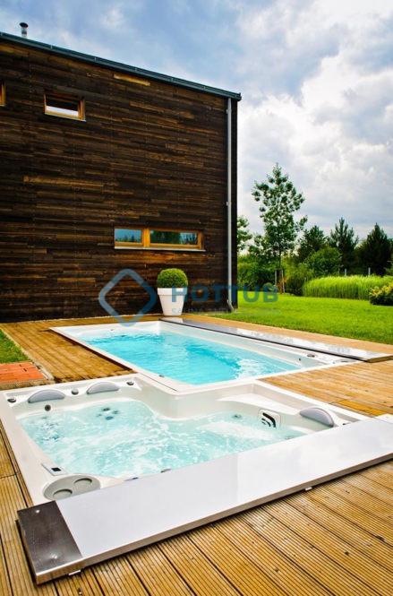 Celoročné bazény USSPA SWIMSPA A COMBI SPA (2)