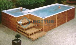Celoročné bazény USSPA SWIMSPA A COMBI SPA exteriér (5)
