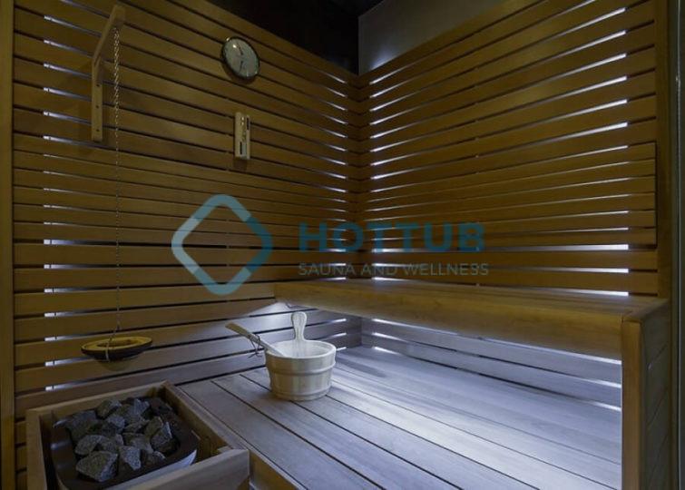 """Fínska sauna"