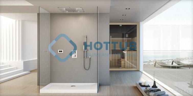 Sprchové hlavice JACUZZI CALEIDOS (2)