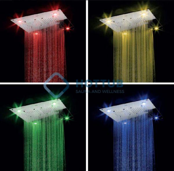 Sprchové hlavice JACUZZI CALEIDOS (3)