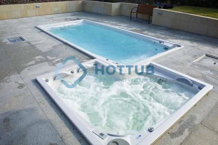 Celoročné bazény USSPA SWIMSPA A COMBI SPA exteriér (2)
