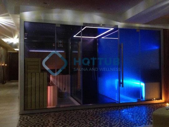 Parná sauna SAUNY NA MIERU