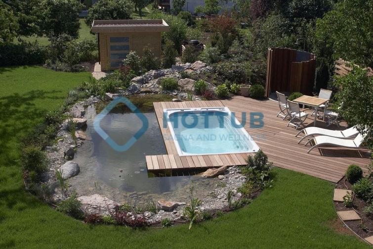 Celoročné bazény USSPA SWIMSPA M exteriér (2)