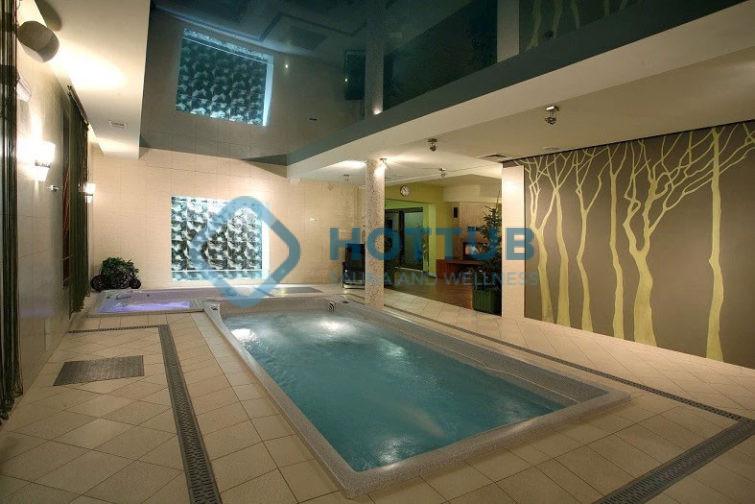 Celoročné bazény USSPA SWIMSPA XL interiér (2)