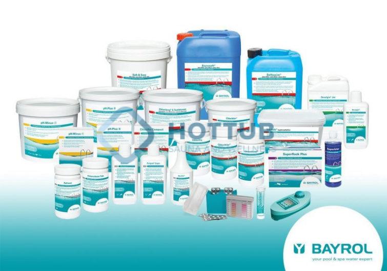 BAYROL - bazénové chemické hospodárstvo