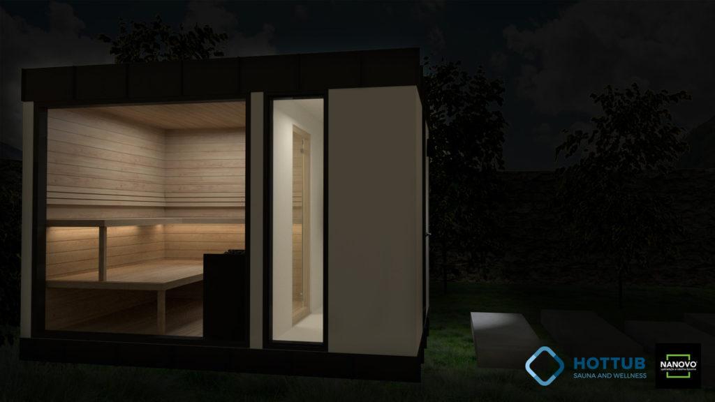saunový modul ZEN