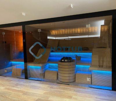 Luxusná kombi sauna